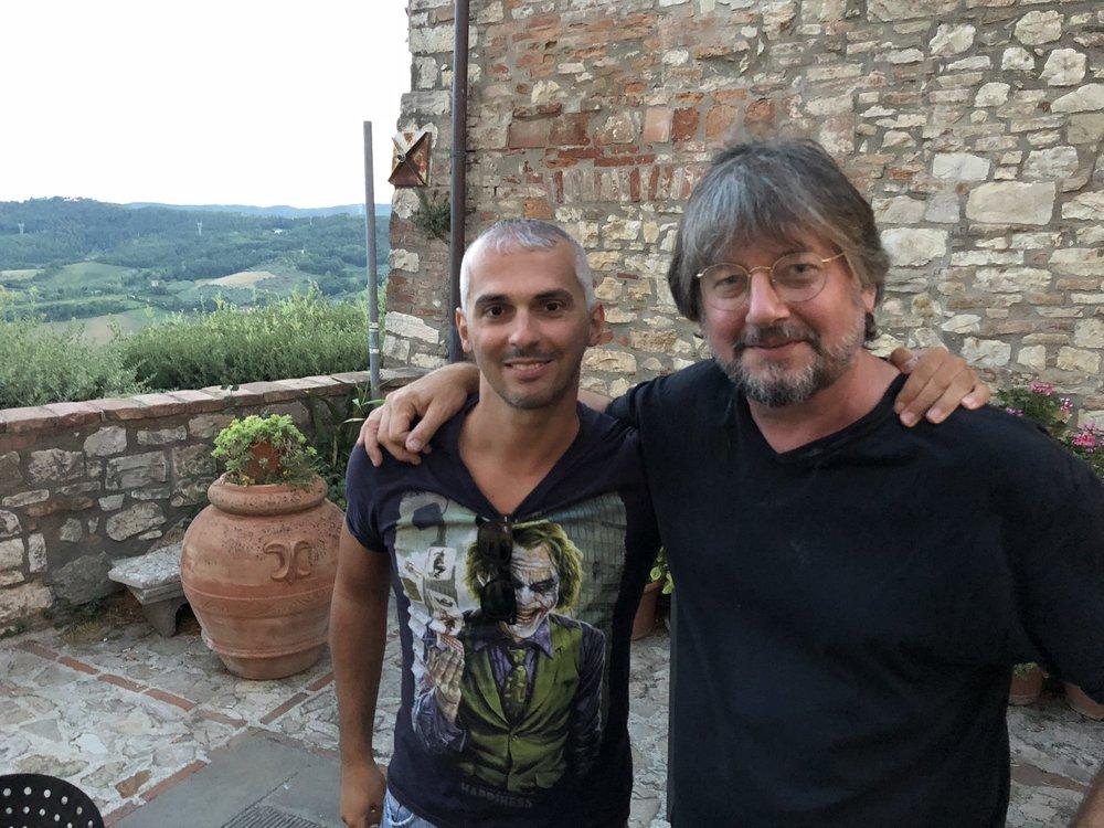 David Voros and Eros Tassi.
