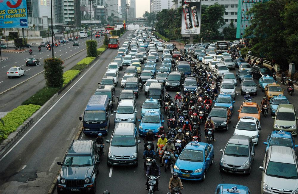Typical Jakarta Traffic
