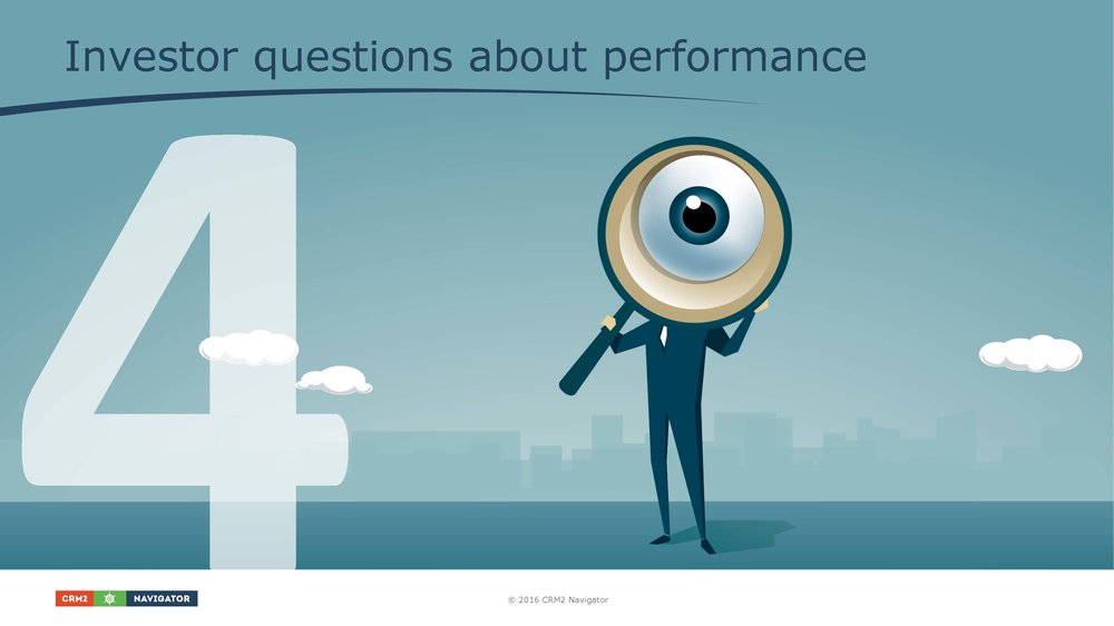 Module 4: Investor questions about performance