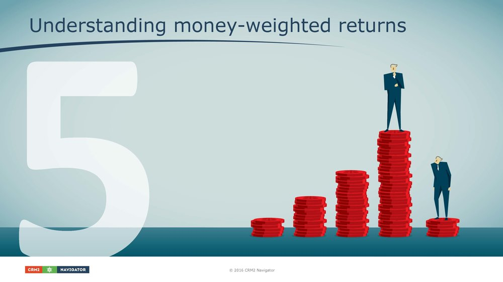 Module 5: Understanding money-weighted rates of return