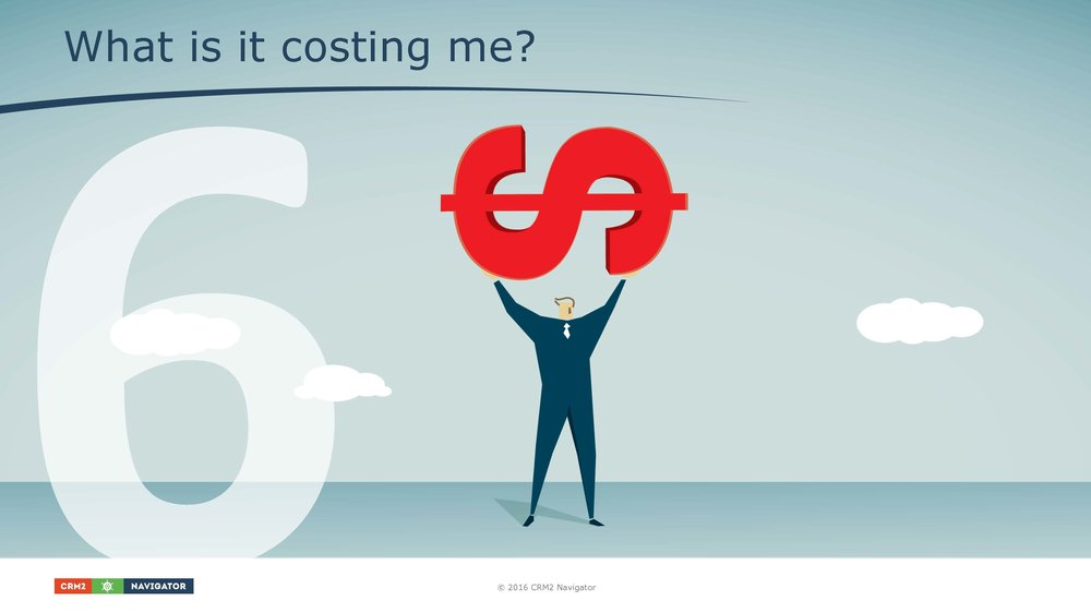 Module 6: What is it costing me?