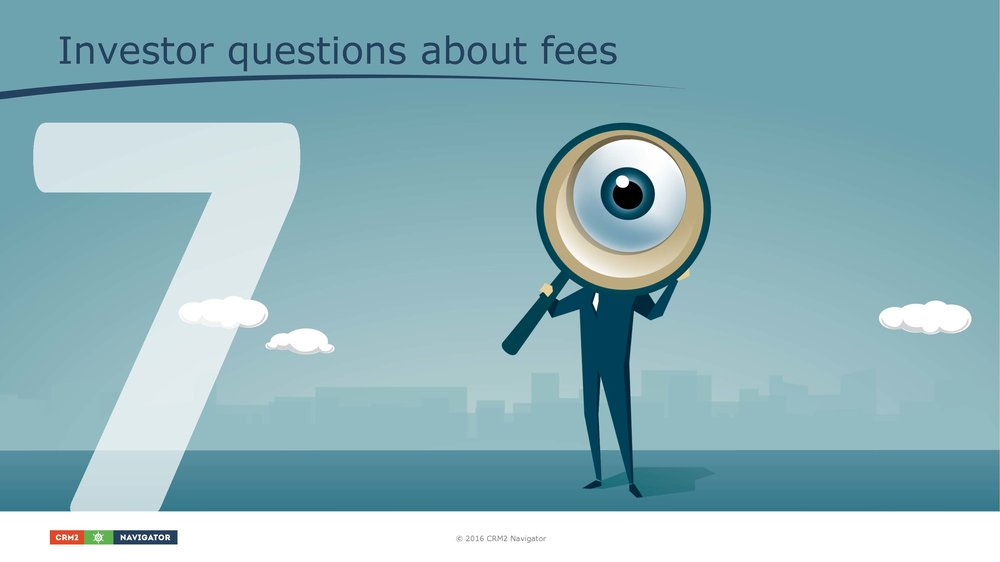 Module 7: Investor questions about fees