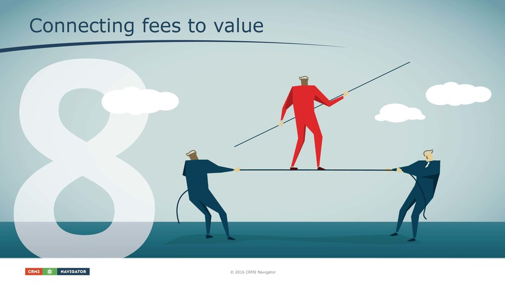 Module 8: Connecting fees to value