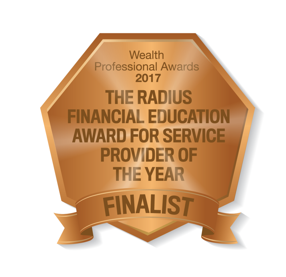 Radius Financial Education Award