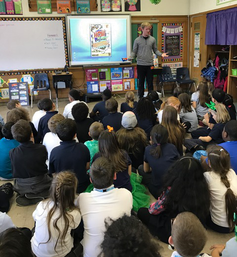 "Students love Corey's author visits.  His powerpoint and stories make for a fun presentation that shows off ""How To Shoot A Basketball"". #howtoshootaBball"