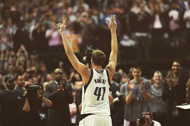 Congrats to the man, the myth, the legend Dirk on reaching 30k 🏀