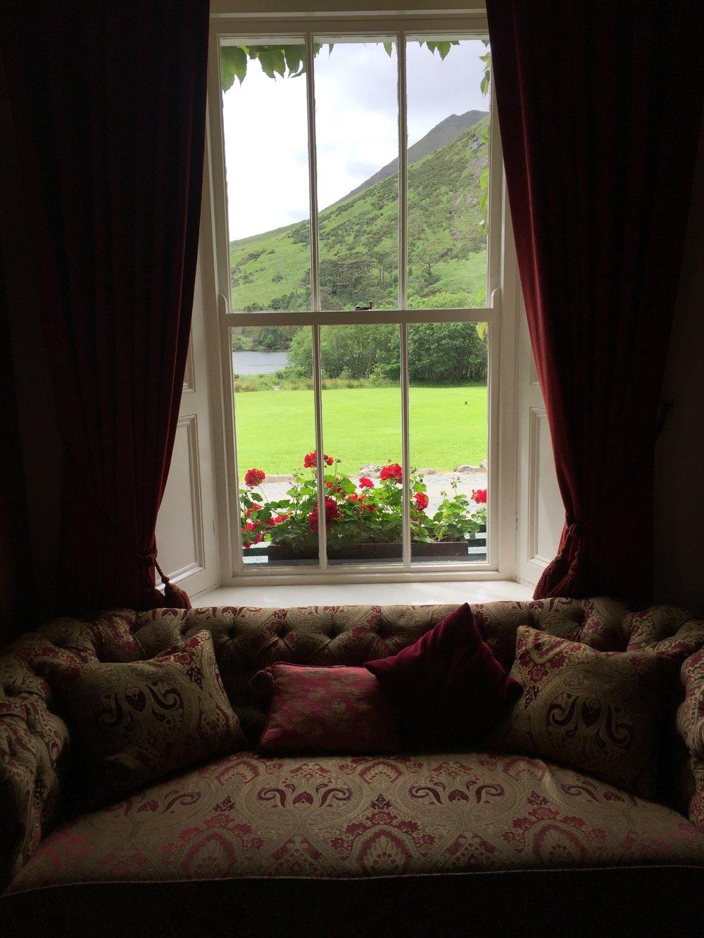 Delphi Lodge--what a view!