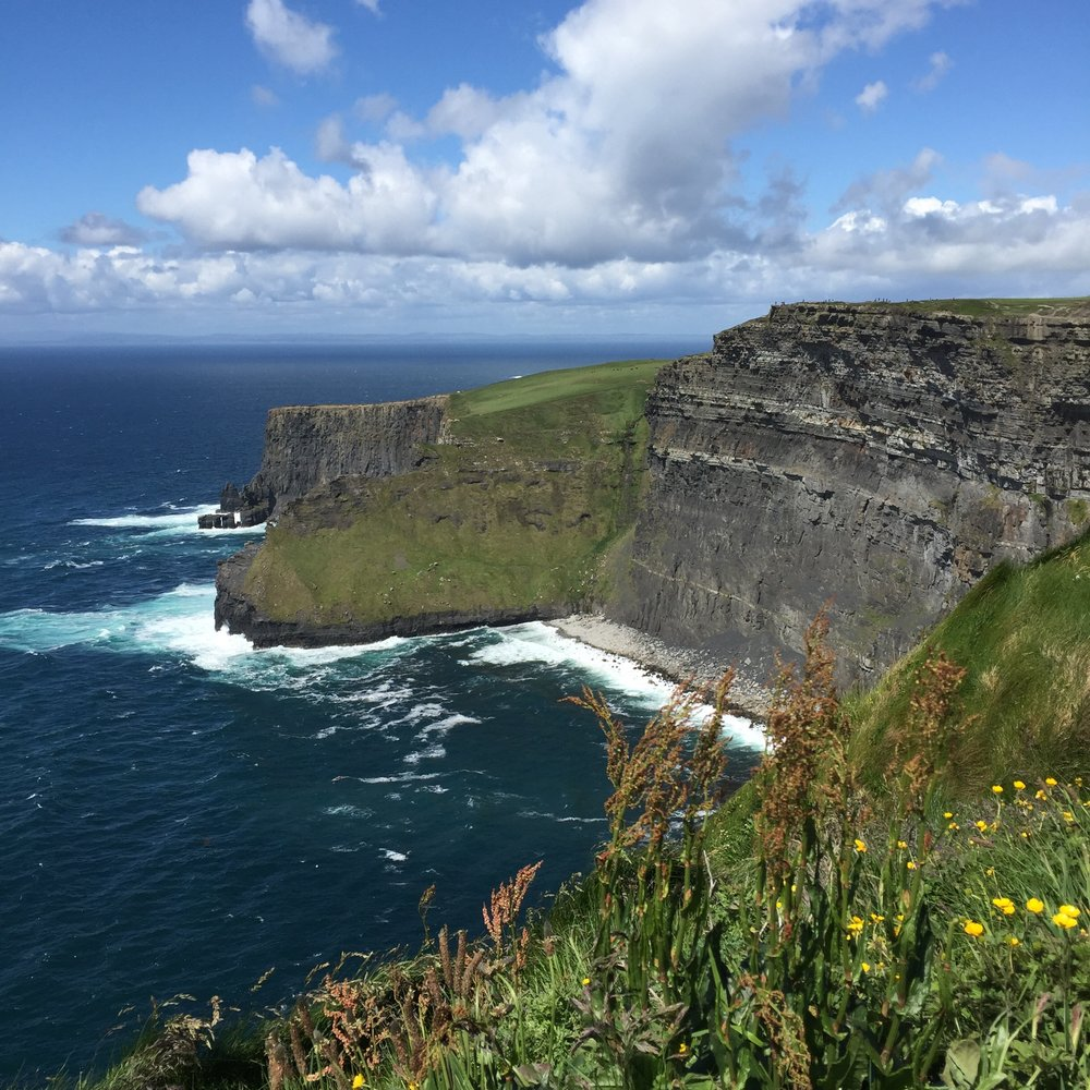 Cliffs of Moher. The less photographed side.