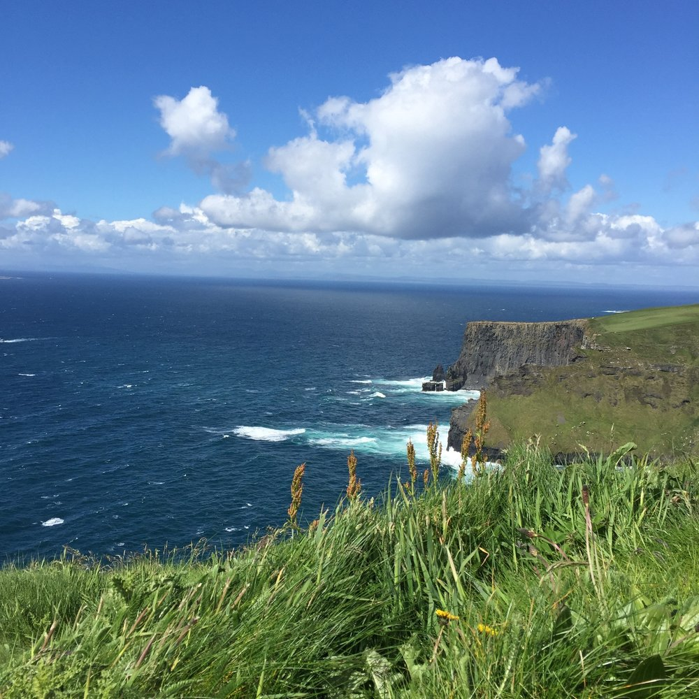 The Cliffs of Moher. Ireland.