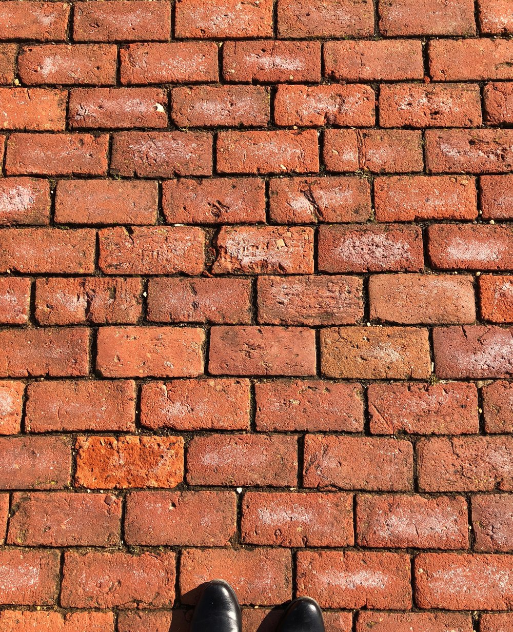 Brick pavers, Virginia