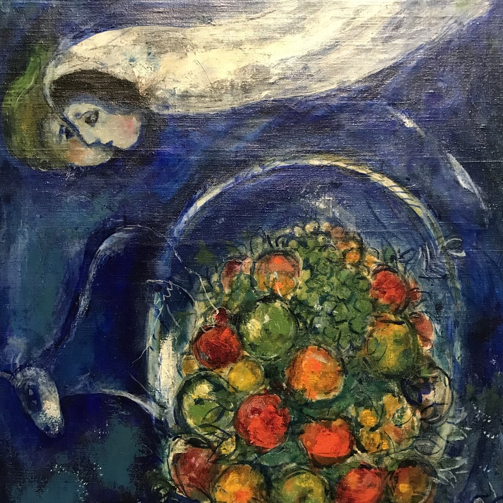 Marc Chagall,  Dreamer . 1945.