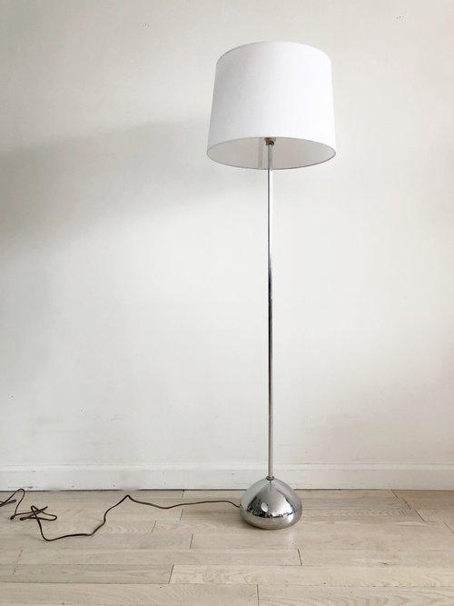 Mid century george kovacs chrome teardrop floor lamp home union mid century george kovacs chrome teardrop floor lamp aloadofball Images