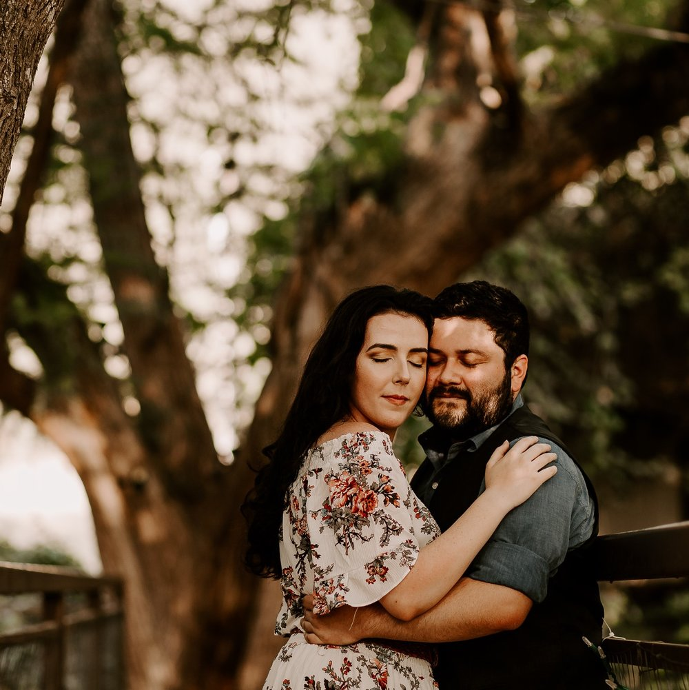 Franco & Lauren's Engagements In The Trees - RIVER ROAD TREEHOUSES NEW BRAUNFELS TEXAS