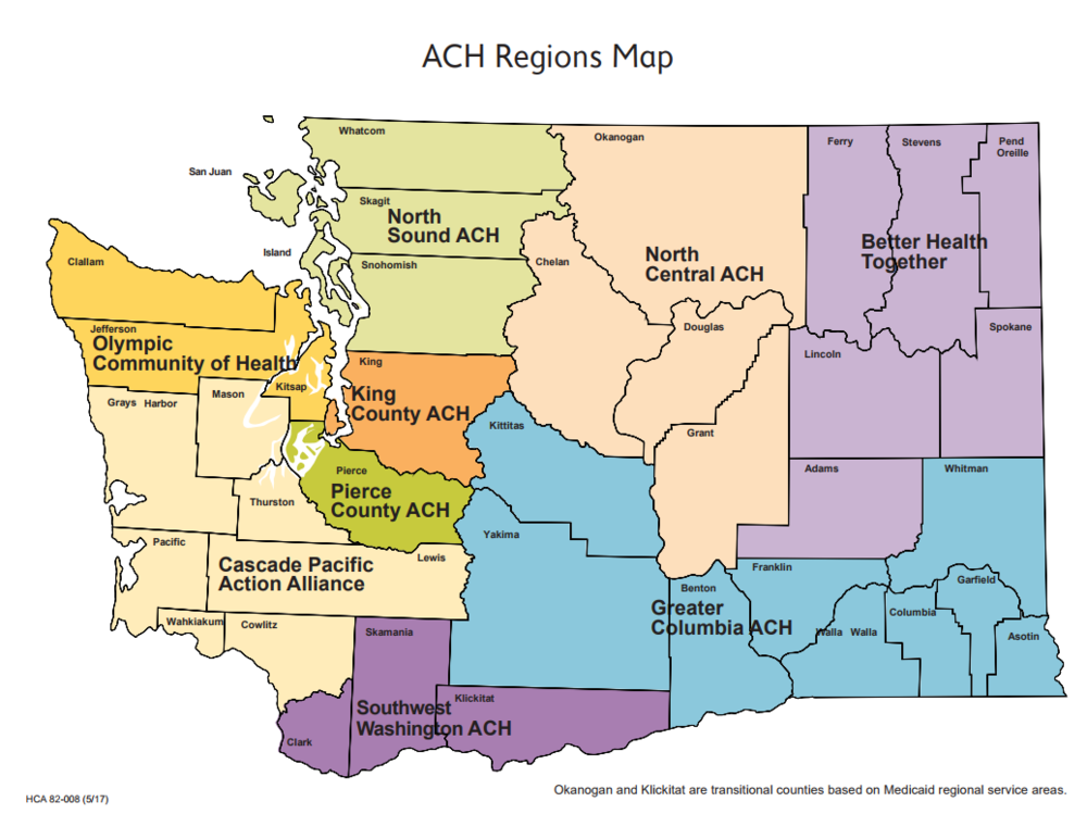 CLICK MAP FOR MORE INFORMATION ABOUT ACH REGIONS