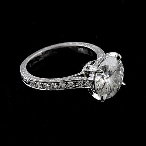 FINAL+SALE++Cubic+Zirconia+Platinum+Art+Deco+Replica+Hand+Engraved+Engagement+Ring.jpg