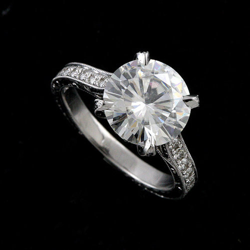 FINAL+SALE++Cubic+Zirconia+Platinum+Art+Deco+Replica+Hand+Engraved+Engagement+Ring+1.jpg