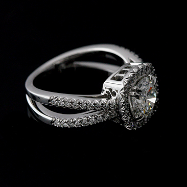 Platinum-Cut-Down-Micro-Pave-Diamond-Split-Shank-Halo-Engagement-Ring-Mounting-R1081VEN-5.jpg