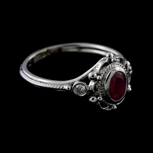 Victorian+Style+Reproduction+Diamond+Oval+Ruby+Engagemen+Ring+14k+Gold+2.jpg
