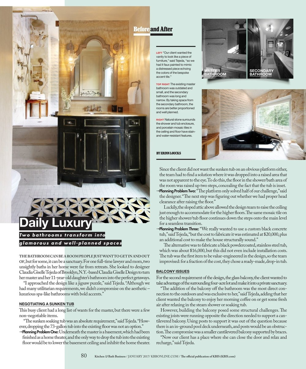 Daily Luxury — Claudia Giselle Design LLC