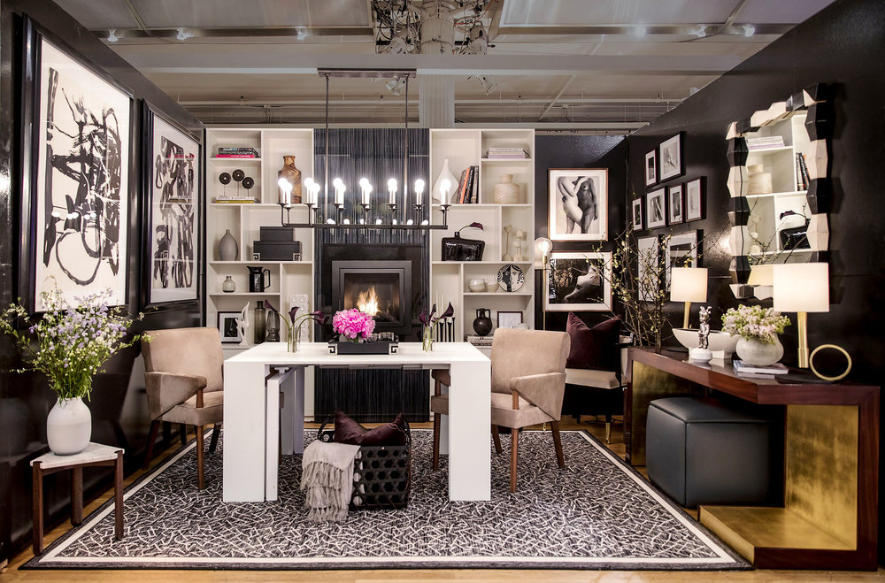 Claudia Giselle Design Vignette - Housing Works 2018 Design on a Dime NYC Charity Benefit.