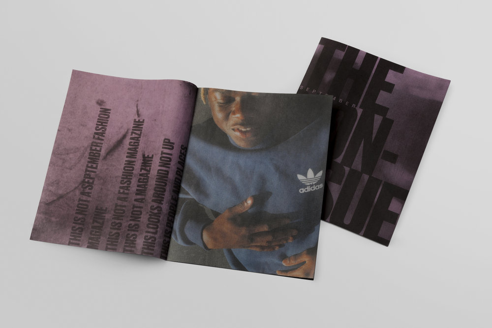 adidas September Non-Issue Zine