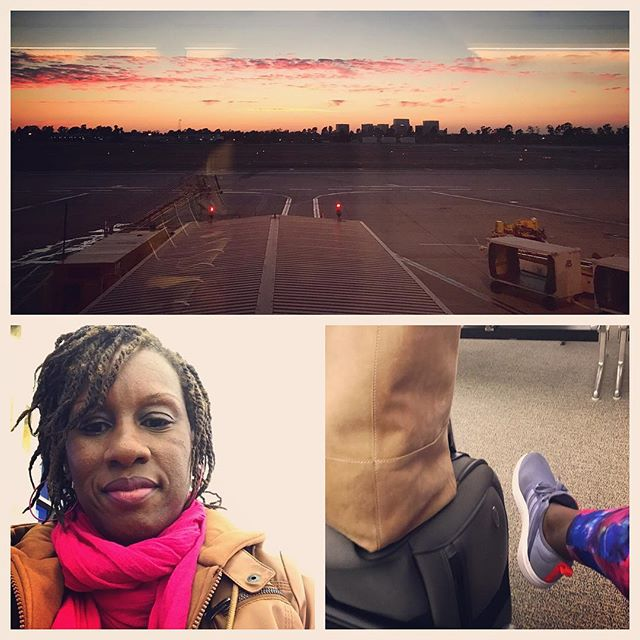 Me and my Sseko are ready to take flight to San Francisco 🛫💋✈️💖😌@vunyeshclesh @gakiiriungup see y'all soon #watchoutsanfrancisco #girlsweekend #soogood #iwannadancewithsomebody #igotallmysisterswithme #ssekostyle #takeflight #socalsunset