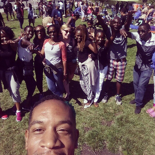 African Dance Circle 🇰🇪💃🏽❣️#africiandanceparty #yassss #summermood #dancecircus  #dancedancedance #soofun #djmpenzi #photobomb