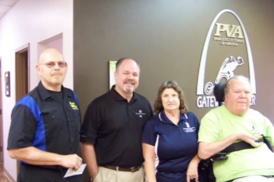 A big thank you to NAPA Auto Parts for donating their proceeds from their trivia night to the Gateway Chapter!