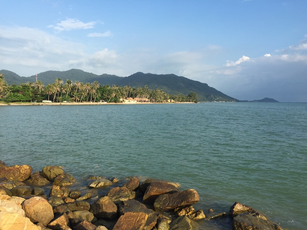 The southwest side of Koh Phangan, Thailand