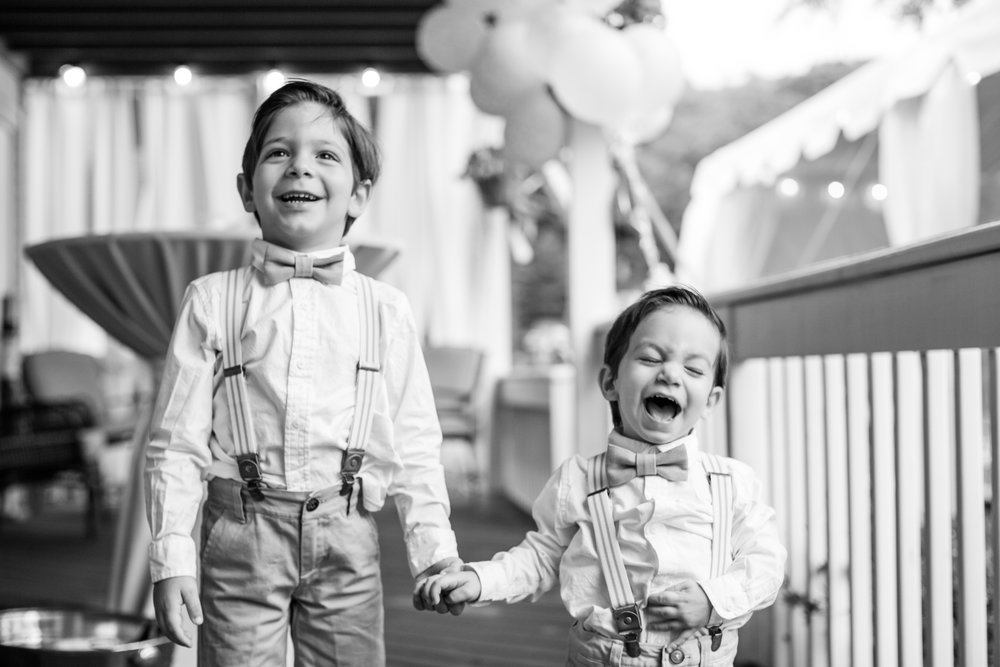 Cute Ring Bearers NJ Wedding Photography