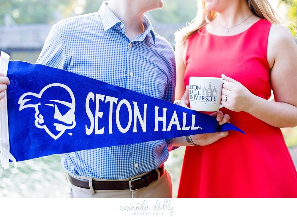 Seaton Hall Banner and Mug