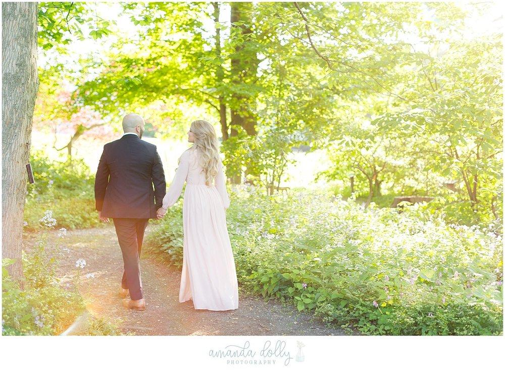 Frelinghuysen Arboretum Engagement Photography