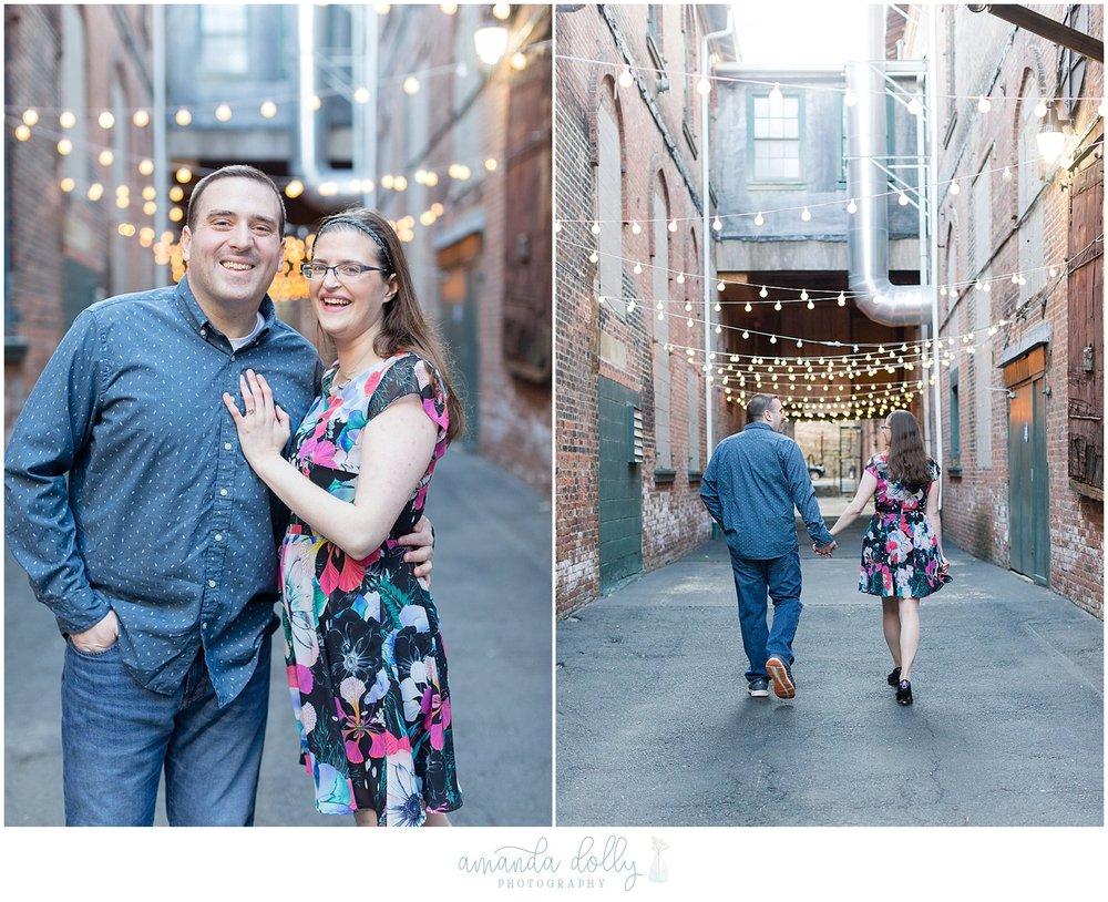Garner Arts Center Engagment Photography
