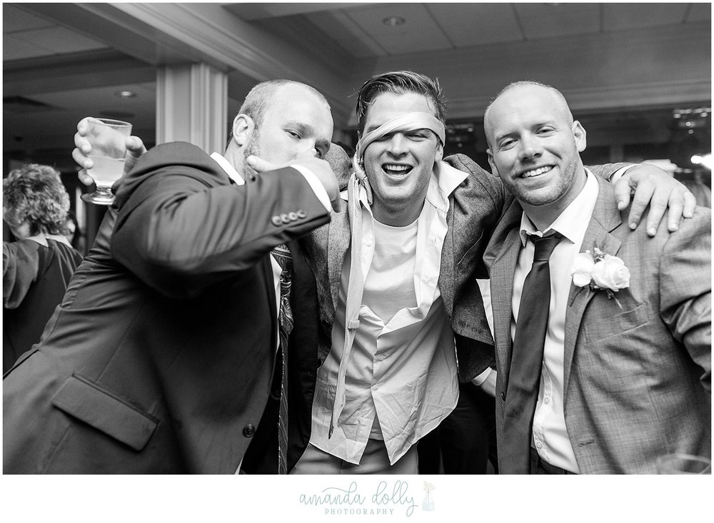 The Channel Club Monmouth Beach Wedding Photography