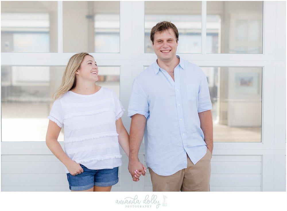 Avon-By-The-Sea NJ Engagement Photography