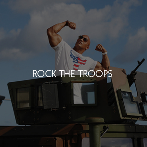 Rock The Troops (Hosted By The Rock)