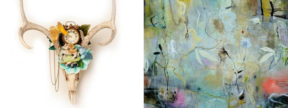 "LeMieux Galleries‎ Opening reception for Deedra Ludwig ""Luminescence"" & Marcy Lally ""Memento Wild"""