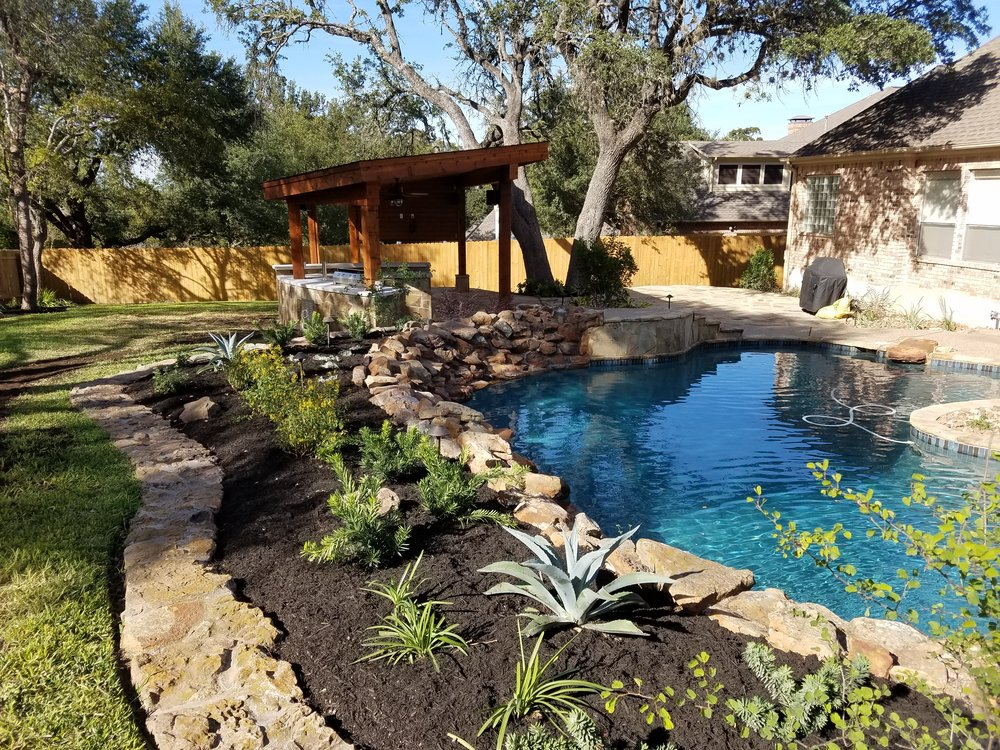 Stones & Scapes - We are a professional landscape company with over 15 years of experience in Central Texas. We are able to design and create custom outdoor living spaces and gardens. You can contact us for all of your landscaping needs.
