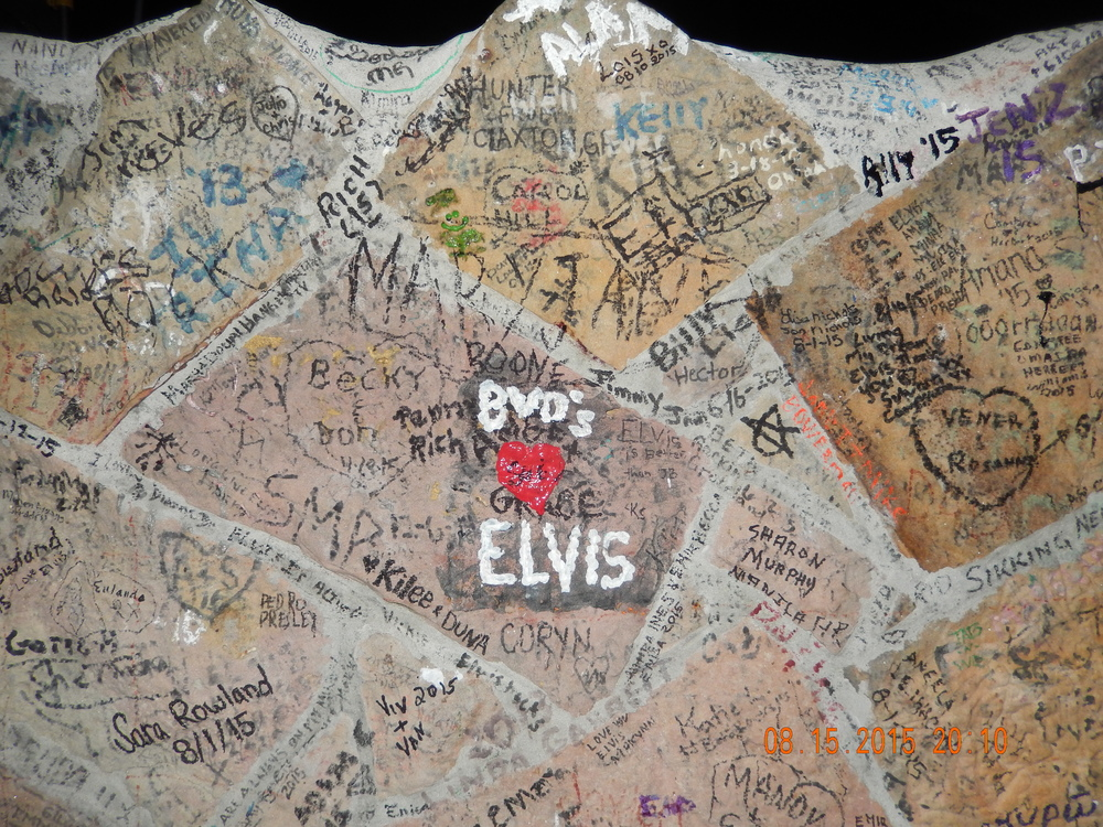 The Graceland Wall - Graffiti in the name of love.