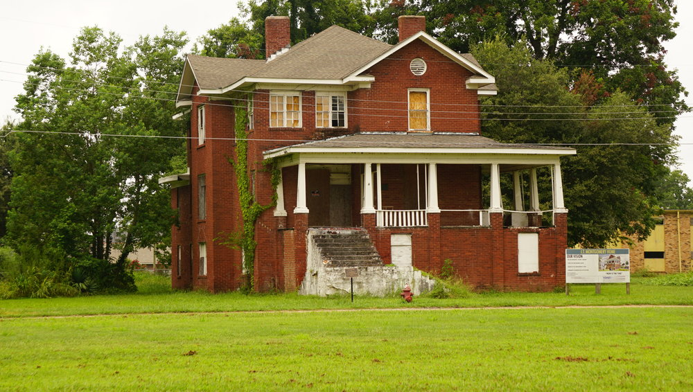 Home of Isaiah Montgomery, ex slave, Founder of Mound Bayou, Mississippi. Photo by M.A. Caudel