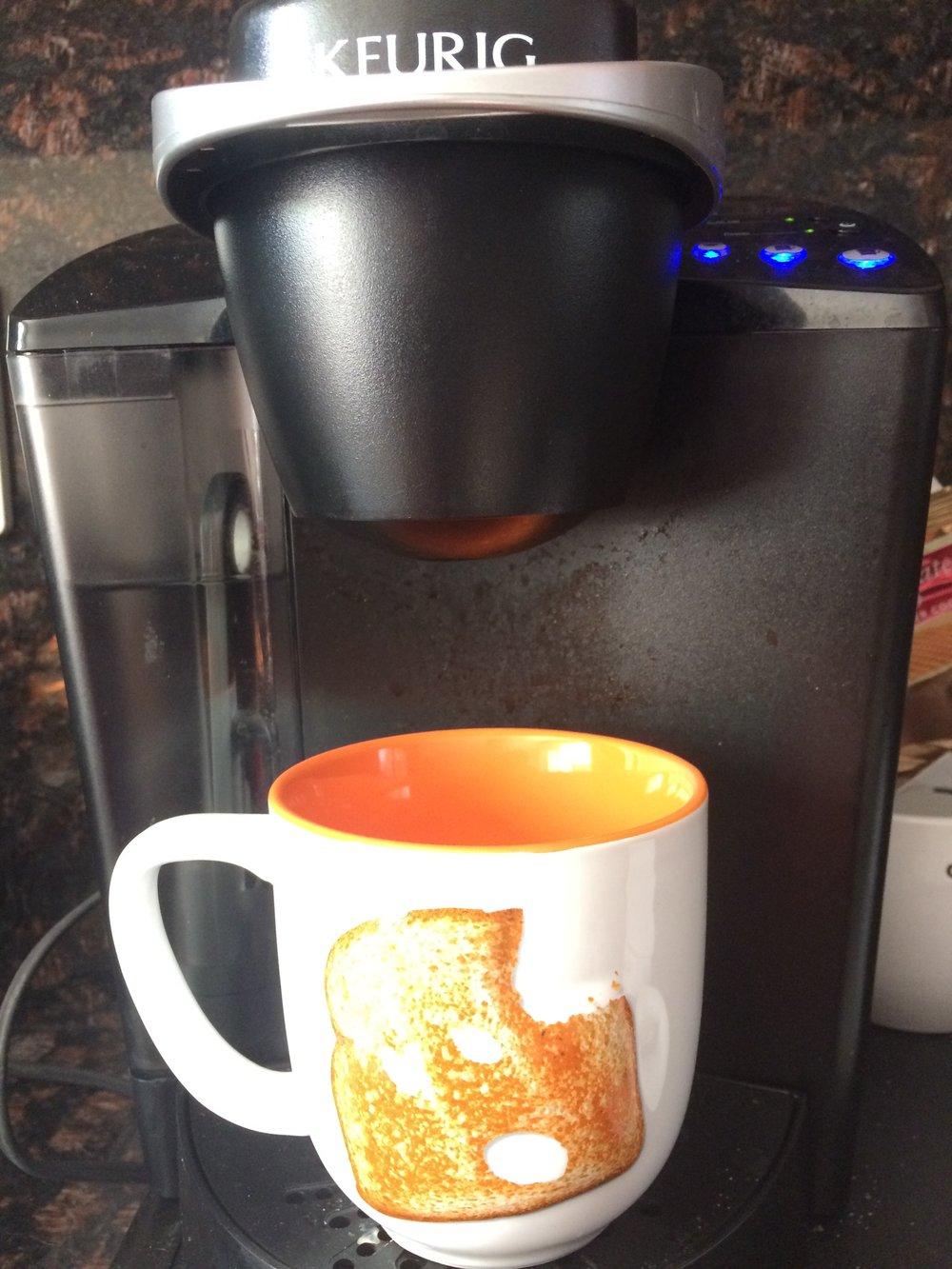 Good Toast, fill 'er up!