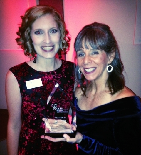 Marcia was presented the CASA of the Year Award at our 2017 Red Shoe Gala by Executive Director Britney Sink