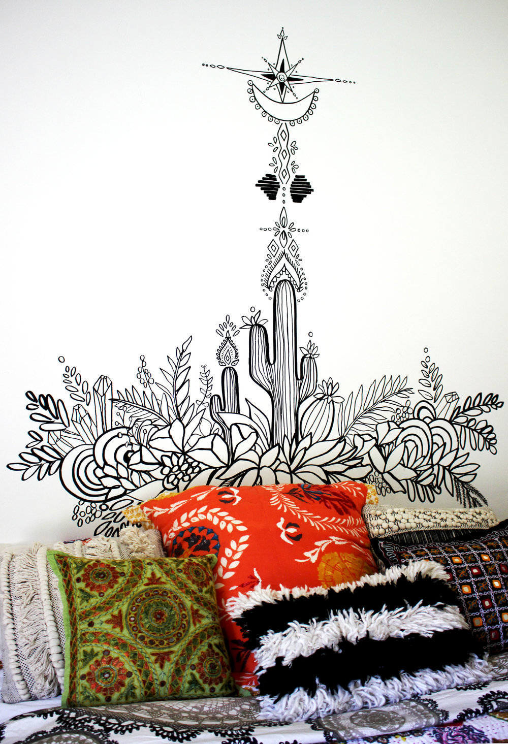 Cactus Mural, 2016