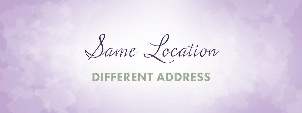 same location different address