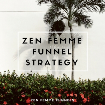 A  2-hour Sales Funnel Strategy Immersion  to get your first or next sales funnel game on-point and to  start attracting your dream clients   NOW .