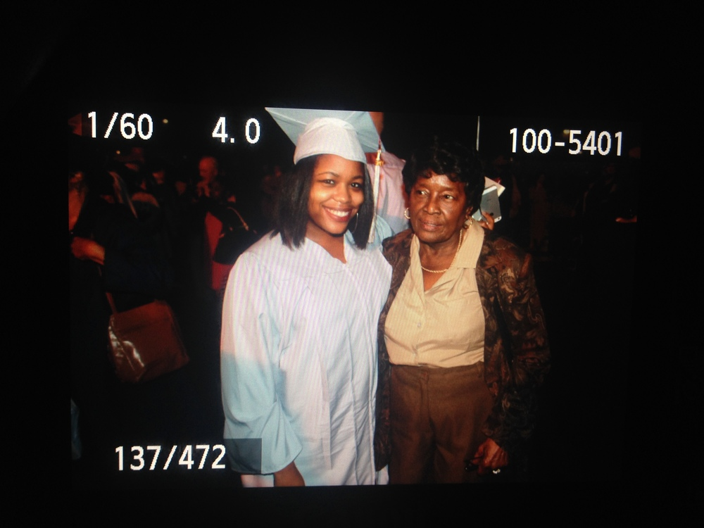 photo by heythats jaz --- My best friend/ grandmother and I at my graduation in May 2014