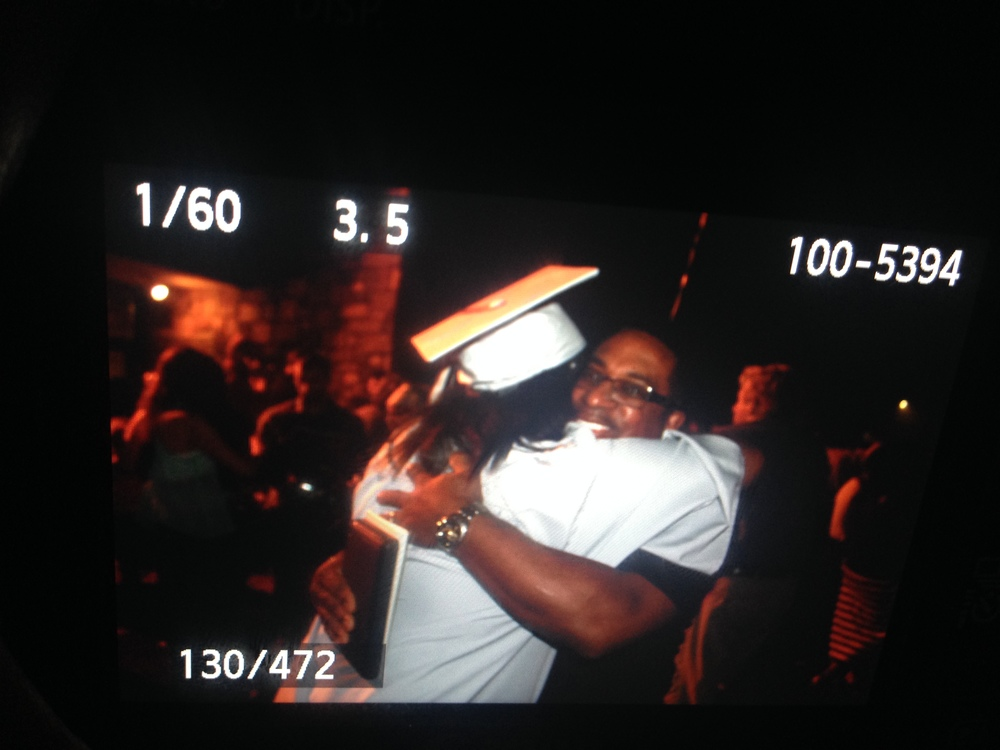 photo by heythats jaz --- My dad and I at my graduation in May 2014