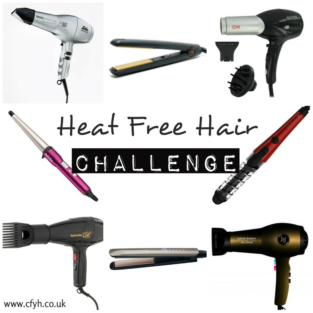 photo by www.cfyh.co.uk --- Heat Free Hair Challenge