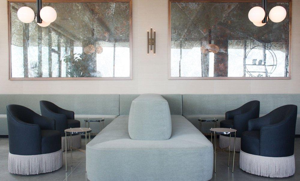 James Hotel lobby by Wendy Hayworth