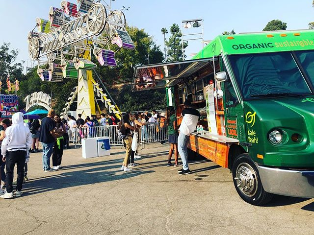Fun weekend serving #vegan tacos at @campfloggnaw 😋 #festival #foodtruck #dodgerstadium @foodtruckstops_la